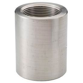 """Ss 316/316l Forged Pipe Fitting 1-1/2 X 3/4"""" Reducing Coupling Npt Female - Pkg Qty 3"""