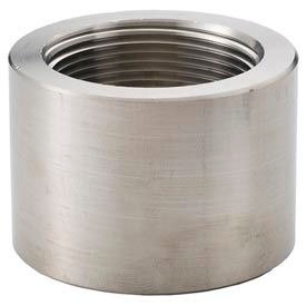 """Ss 316/316l Forged Pipe Fitting 1-1/2"""" Cap Npt Female - Pkg Qty 5"""