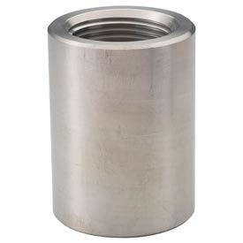"Ss 304 Barstock Coupling 1-1/2"" Npt Female - Pkg Qty 5"