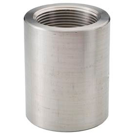 "Ss 304 Barstock Reducing Coupling 1-1/2 X 3/4"" Npt Female - Pkg Qty 10"