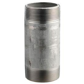 SS 316/316L Schedule 40 Welded Pipe Nipple 4x12 NPT Male