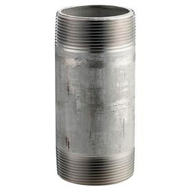 Ss 316/316l Schedule 80 Seamless Extra Heavy Pipe Nipple 1/4x4 Npt Male - Pkg Qty 25