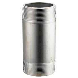 Aluminum Schedule 40 Pipe Nipple 1/4 X 6 Npt Male - Pkg Qty 50