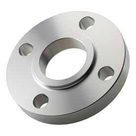 """304 Stainless Steel Class 150 Lap Joint Flange 1-1/2"""" Female - Pkg Qty 3"""