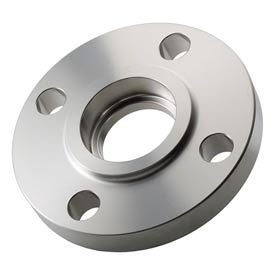 "304 Stainless Steel Class 150 Socket Weld Flange 4"" Female"