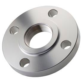 "316 Stainless Steel Class 150 Threaded Flange 3/4"" Npt Female - Pkg Qty 3"