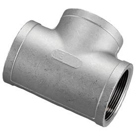 "Iso Ss 304 Cast Pipe Fitting Tee 1/8"" Npt Female - Pkg Qty 50"