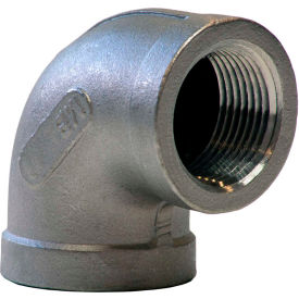 3/4 In. 304 Stainless Steel 90 Degree Elbow - FNPT - Class 150 - 300 PSI - Import