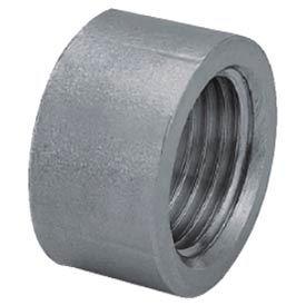 "Iso Ss 304 Cast Pipe Fitting Half Coupling 1/8"" Npt Female X Plain - Pkg Qty 125"