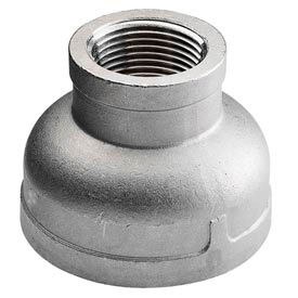 """Iso Ss 316 Cast Pipe Fitting Reducing Coupling 3"""" X 1-1/2"""" Npt Female - Pkg Qty 2"""