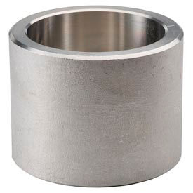 """Ss 304/304l Forged Pipe Fitting 1/2"""" Half Coupling Socket Weld - Pkg Qty 22"""