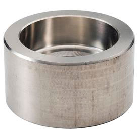 """Ss 304/304l Forged Pipe Fitting 3/8"""" Cap Socket Weld - Pkg Qty 23"""
