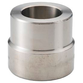 "Ss 304/304l Forged Pipe Fitting 3/4 X 3/8"" Insert Socket Weld - Pkg Qty 15"