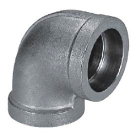 """Mss Ss 304 Cast Pipe Fitting 90 Degree Elbow 3/4"""" Socket Weld Female - Pkg Qty 19"""