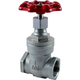 3/4 In. Stainless Steel Gate Valve - 200 PSI
