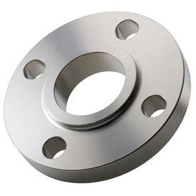 "316 Stainless Steel Class 150 Slip-On Flange 1-1/2"" Female - Pkg Qty 2"