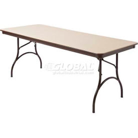 "Mity-Lite ABS Folding Tables Rectangle 30""X 72"" Beige Texture by"