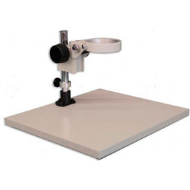 Meiji Techno KBL Wide Surface Laminate Board Stand with FX Focus Holder