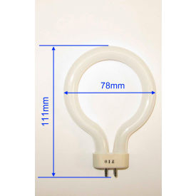 Meiji Techno MA305/05 8W Ring Fluorescent Bulb, For MA305/100, MA305/200 Illuminators