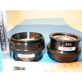 Meiji Techno MA530 Auxiliary Lens 0.3X, Working Distance 252mm