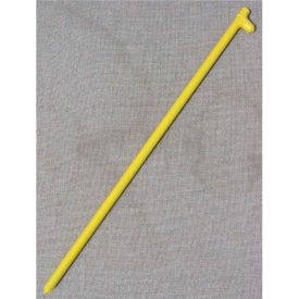 "24"" Forged Head Stake, Yellow"
