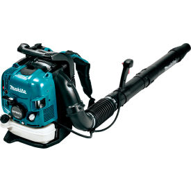 Makita EB7650TH, 75.6 cc. Gas Backpack Leaf Blower, CA Emission Compliant by