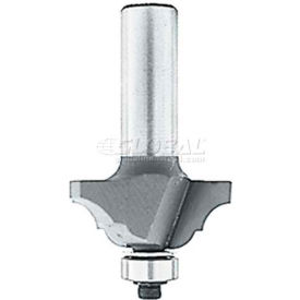"""Makita Router Bit, 733126-0A, Cove & Bead, 2 Flute, 1/4"""" Short, Carbide Tip from Router Bits"""