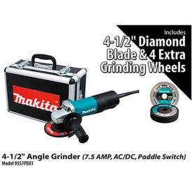 "Makita® 9557PBX1 4-1/2"" Angle Grinder Power Pack"