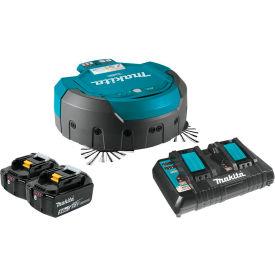 Makita® 18V X2 LXT® Lithium-Ion Cordless Robotic Vacuum W/ Batteries & Charger - DRC200PT