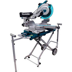 "Makita LS1216LX4 12"" Dual Slide Compound Miter Saw with Laser and Stand by"