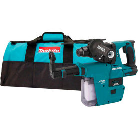 "Makita XRH01ZVX 18V Li-Ion Brushless Cordless 1"" Rotary Hammer w/ HEPA Vacuum Attachment, Tool Only by"