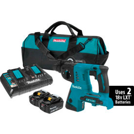 "Makita XRH05PT 18V X2 LXT Lithium-Ion (36V) Cordless 1"" Rotary Hammer Kit (5.0Ah) by"