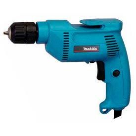 "Makita Corded Drill, 6408, 3/8"", 4.9 Amp, 0-2,500 RPM, Var. Speed,..."