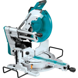 "Makita LS1219L, 12"" Dual‑Bevel Sliding Compound Miter Saw with Laser by"
