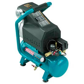 Makita® MAC700, 2 HP, Hand Carry, 2.6 Gallon, Hot Dog, 130 PSI, 3.3 CFM, 1-Phase 120V