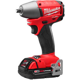 "Milwaukee 2754-22CT M18 FUEL 3/8"" Friction Ring Impact Wrench, Kit"