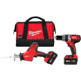 Milwaukee® 2695-22 M18™ Cordless Li-Ion 2-Tool Combo Kit