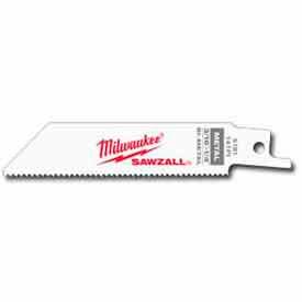 """Milwaukee® 48-00-5181 4"""" 14 TPI SAWZALL® Blade (5 Pack)"""