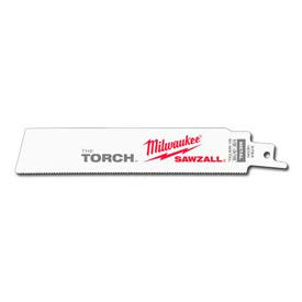 "Milwaukee® 48-00-5784 6"" 18 TPI The Torch™ SAWZALL® Blade (5 Pack)"
