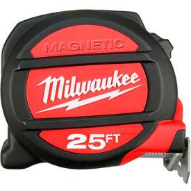 Milwaukee® 48-22-0125 25' Magnetic Tape Measure