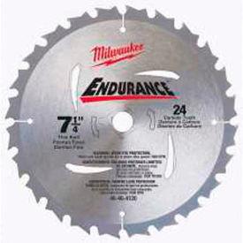"Milwaukee® 48-41-0720 7-1/4"" 24 Carbide Teeth Circular Saw Blade"