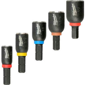 Milwaukee® 49-66-4563 Shockwave™ 5 Pc.Insert Nut Driver Set