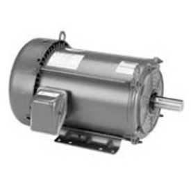 Marathon Motors Premium Efficiency Motor, E2113, 5HP, 1800RPM, 208-230/460V, 3PH, 184T FR, TEFC
