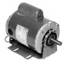 Marathon Motors Fan Blower Motor, G1115, 5KC35JN7X, 1/4HP, 1725RPM, 115/230V, 1PH, 48 FR, DP