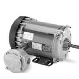 Marathon Motors Explosion Proof Motor, G852, 056C17E5319, 1/4HP, 115/208-230V, 1800RPM, 1PH, EPNV