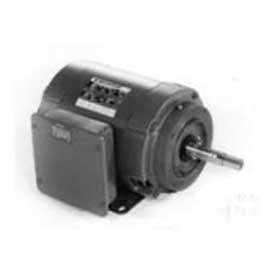 Marathon Motors Closed-Coupled Pump Motor, Z407, 3HP, 115/230V, 1800RPM, 1PH, 184JM FR, DP