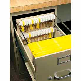 MMF STEELMASTER 40 Key File Drawer Key Rack 201304003, Sand by
