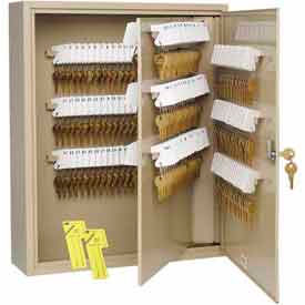 MMF STEELMASTER® Unitag™ 400 Key Cabinet 201940003 Single Key Lock Sand