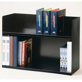 Two-Tier Steel Book Rack by