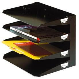 Steel 4-Tier Horizontal Organizer-Letter Size